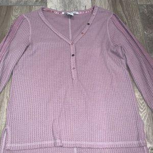 American Rag Tops - AMERICAN RAG Long-sleeve Purple Tunic Size M